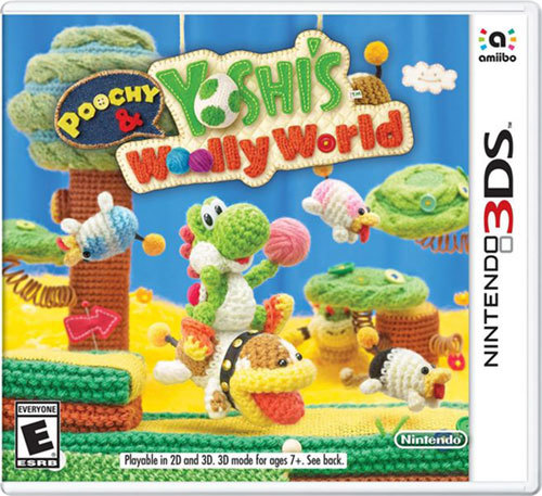 Poochy and Yoshi's Woolly World 3DS Game