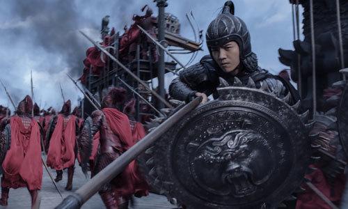 Young soldier Peng Yong (Lu Han)