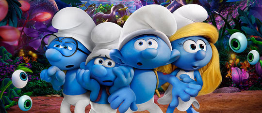 Feature smurfs village feat