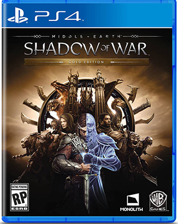 Shadow of War's Gold Edition, which presumably contains any DLC.