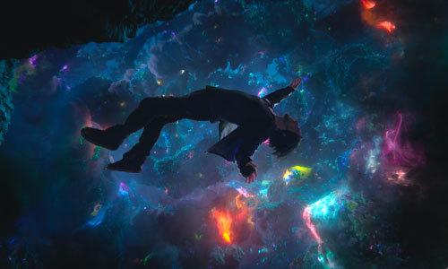 Doctor Strange enters the astral plane