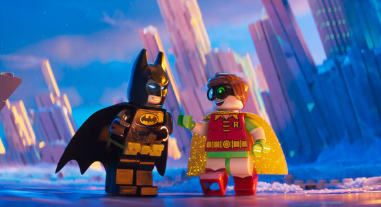 Batman is proud of Robin at the Fortress of Solitude