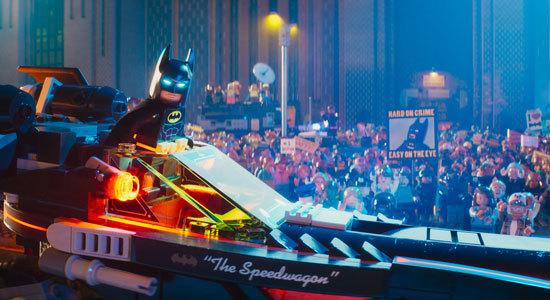 Batman gets a hero's welcome