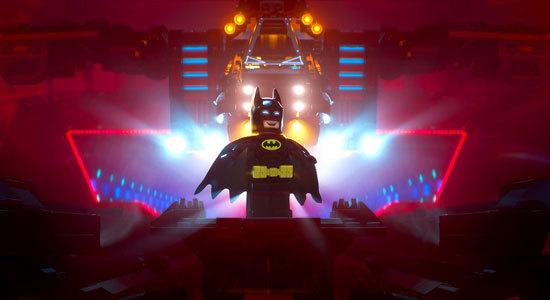 Batman (Will Arnett) in the Bat Cave