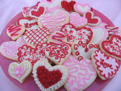 Heart-shaped Cookies!