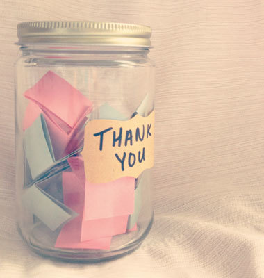 Thank-You Jar notes