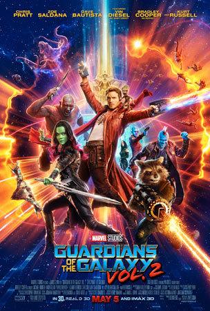 Marvel Studios' Guardians of the Galaxy Vol. 2 New Poster!