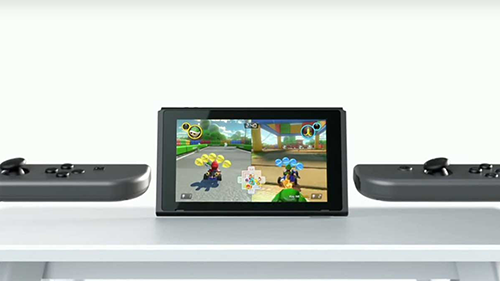 Tabletop Mode is held back by the size of the screen and controllers.