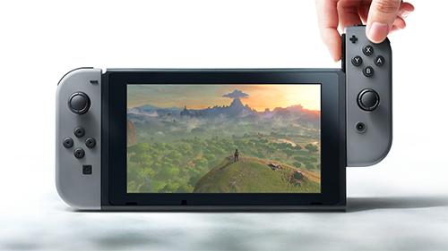 Nintendo's surpisingly comfy Handheld Mode works well.