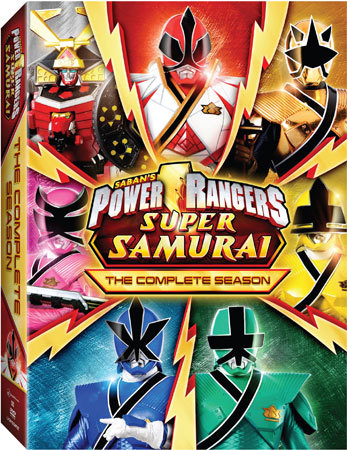 Power Rangers Super Samurai DVD Set