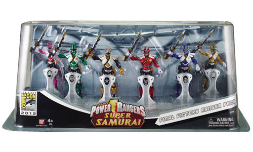 Saban's Power Rangers Super Samurai Final Victory Ranger Pack