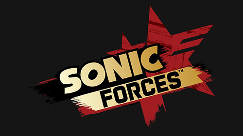 The recently revealed logo for Sonic Forces.