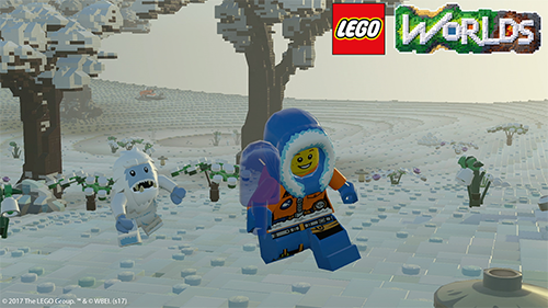 LEGO Worlds has a divirse set of climates.