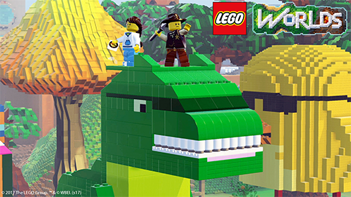 If you can think of it in LEGO then you can build it in LEGO Worlds.
