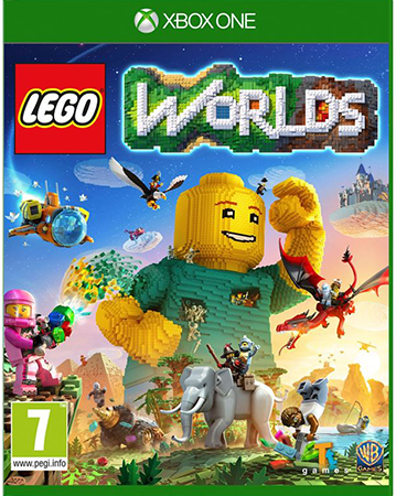LEGO Worlds Box Art