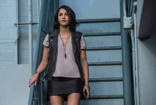 Naomi Scott is Kimberly