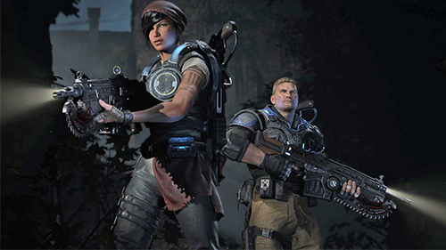 I appreciated Gears of War 4, even if the series doesn't jive with me.