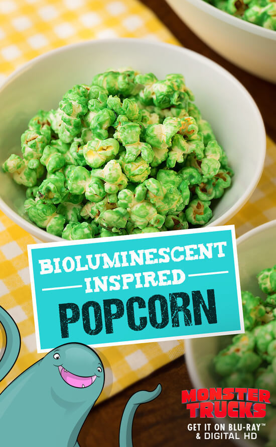 Luminescent Popcorn