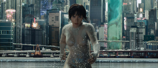 INTERVIEW: Scarlett Johansson is a Ghost in the Shell
