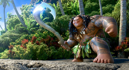 Maui is ready to take on gods and demons