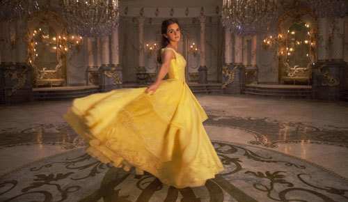 See Emma Watson in the new Beauty and the Beast