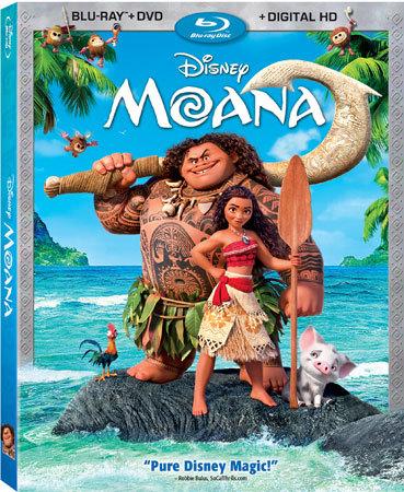 Moana Blu-ray Cover
