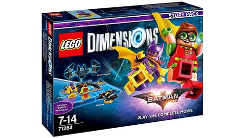 The LEGO Batman Movie Story Pack Box Art