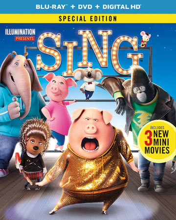 SING Special Edition Blu-ray