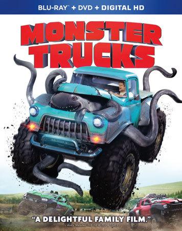 Monster Trucks Blu-ray Cover Art