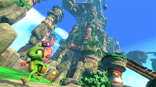 For every negative I throw out, I love the visuals of Yooka-Laylee.