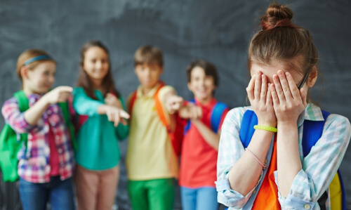 Bullying Breaks Confidence