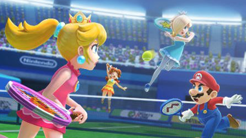 Mario Sports Superstars doesn't struggle in terms of looks.