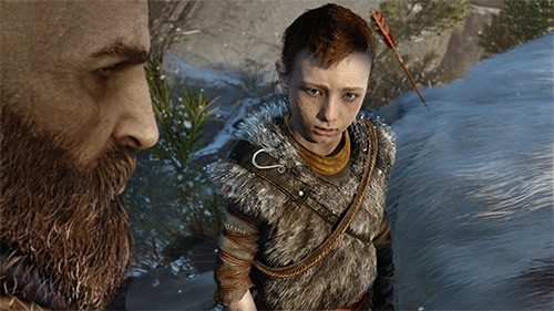 God of War's gorgeous PS4 debut from last year's E3 show.