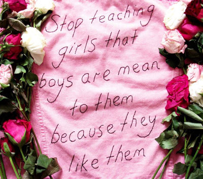 Teasing a Girl is Not the Way to Tell Her You Like Her.
