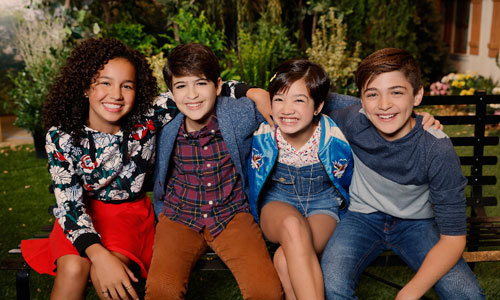 Sofia, Josh Rush, Peyton Elizabeth Lee, Asher Angel