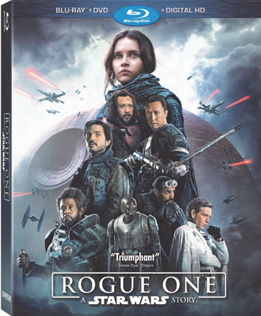 Rogue One: A Star Wars Story Blu-ray Cover
