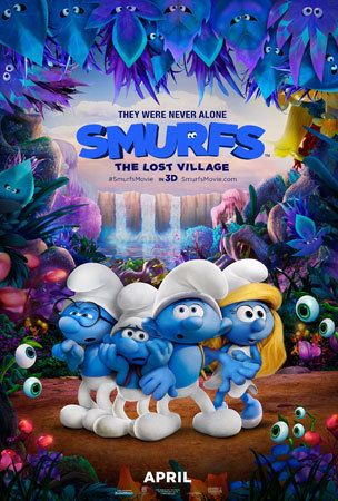 Smurfs: Lost Village Poster