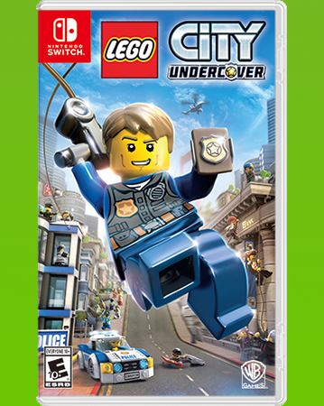 LEGO CITY Undercover Box Art