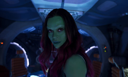 Gamora is onboard to save the Galaxy once again