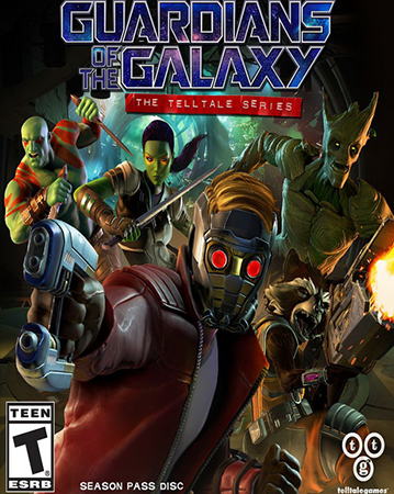 Guardians of the Galaxy: The Telltale Series Cover Art