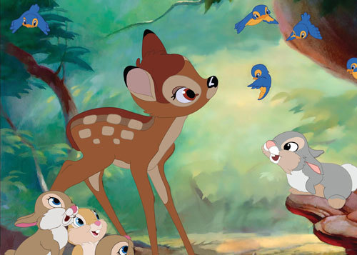 Bambi, Thumper and friends