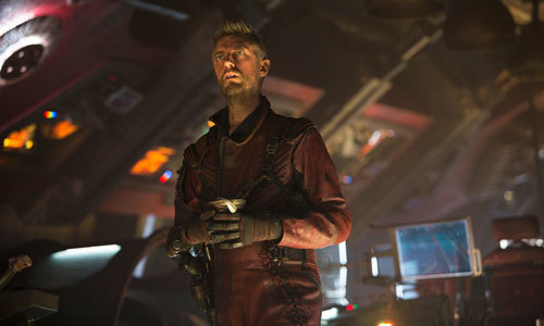 Kraglin (Sean Gunn) is still loyal to Yondu