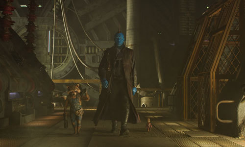 Rocket, Yondu and Baby Groot are a new team