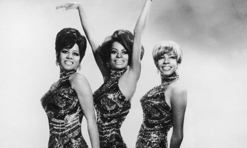 The Supremes, one of the original girl groups!