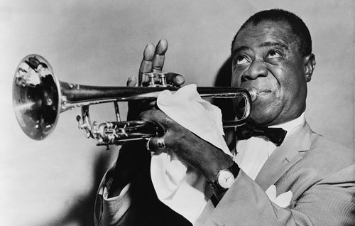 Jazz great Louis Armstrong