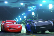 Owen Wilson, Armie Hammer and Larry the Cable Guy Talk Cars 3