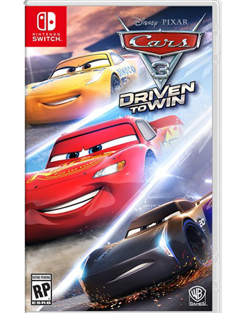 Cars 3: Driven to Win Box Art
