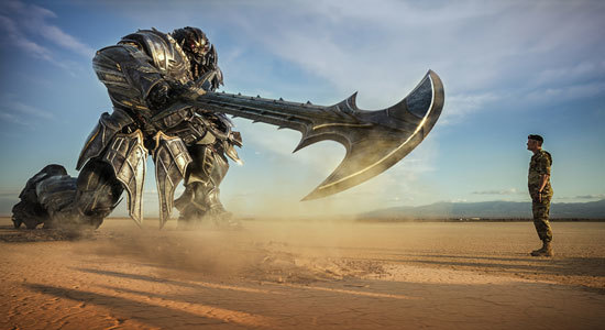Megatron confronts Lennox