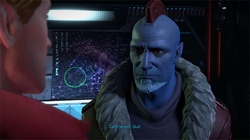 Yondu feels shoehorned into the game's story.