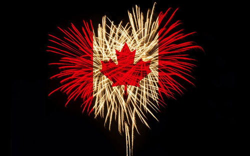 Celebrate Canada Day with fireworks